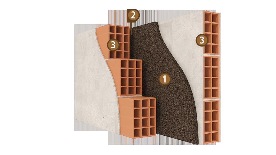 L 39 isolation des murs en li ge expans isoli ge for Isolation des murs exterieurs